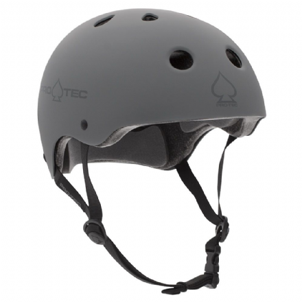 Pro-Tec Classic Certified Helmet Matte Grey Medium